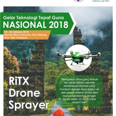 RiTX Drone Sprayer (Drone Penyemprot)